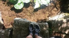 A trip isn't a trip until I've taken a photo of my feet