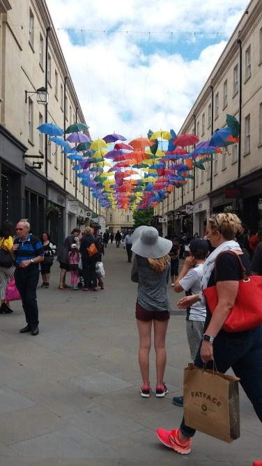 A random street in Bath