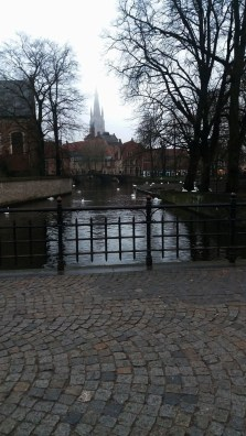 One of the first sights we saw when we first got to Bruges
