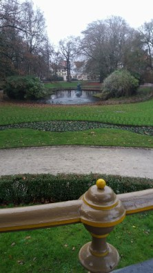 The park where parts of In Bruges was filmed