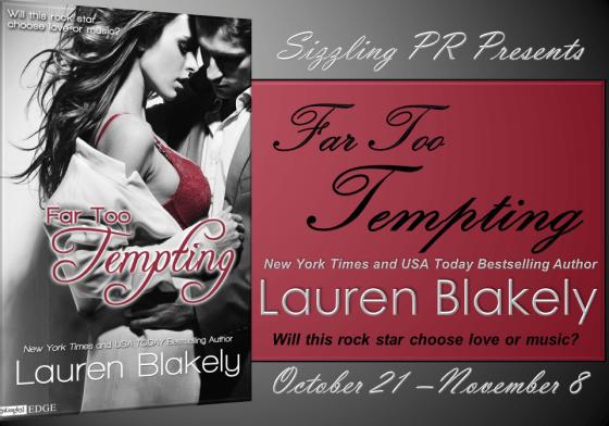 Far Too Tempting - Lauren Blakely - Banner