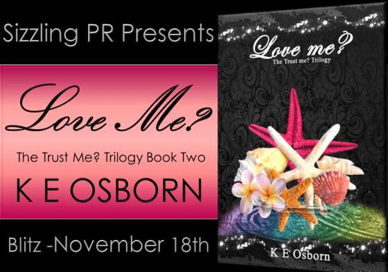 Love Me - K E Osborn - Banner