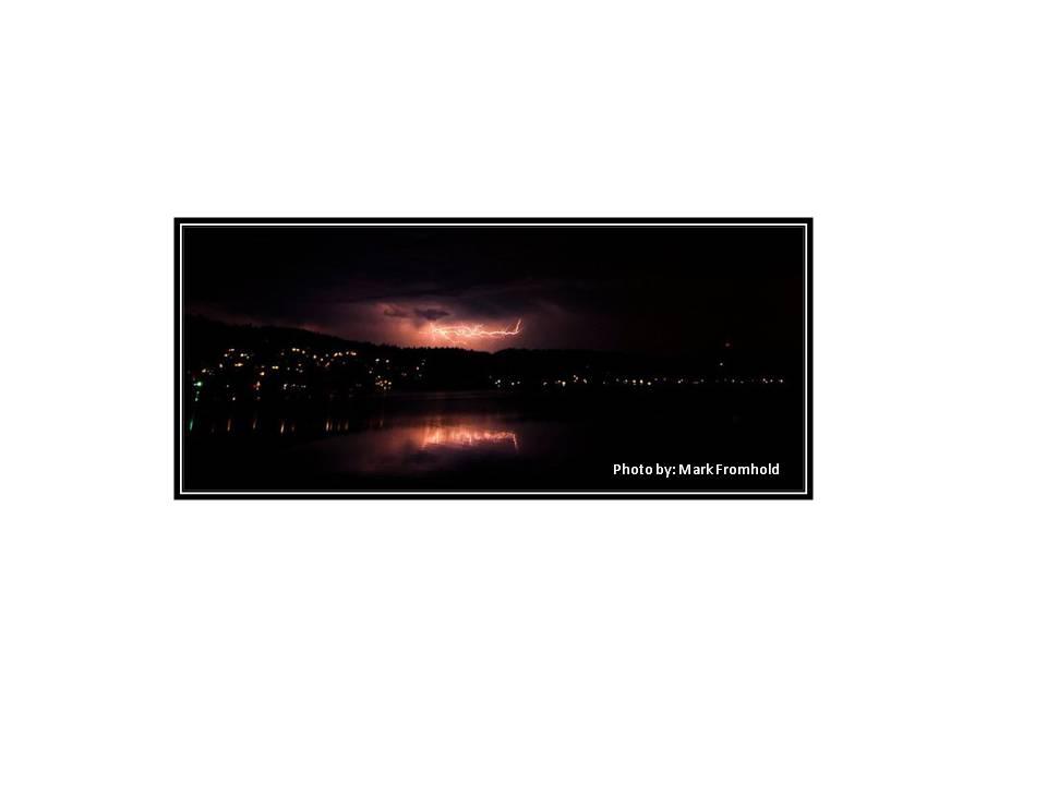 Stormy Lake Sammamish by M.F.