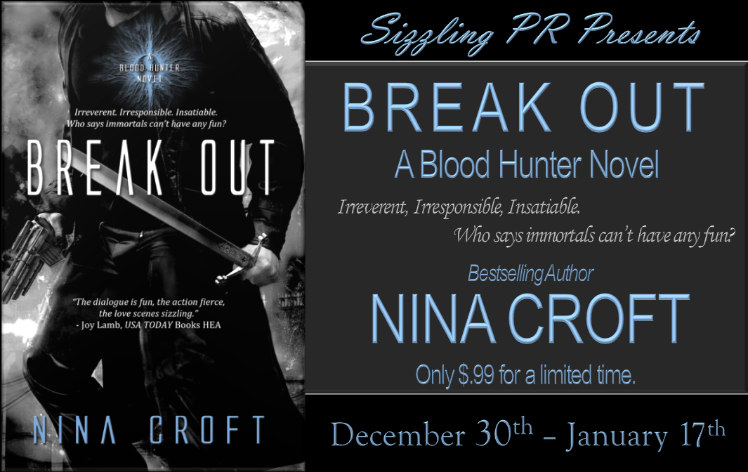 Break Out - Nina Croft - Banner REVISED