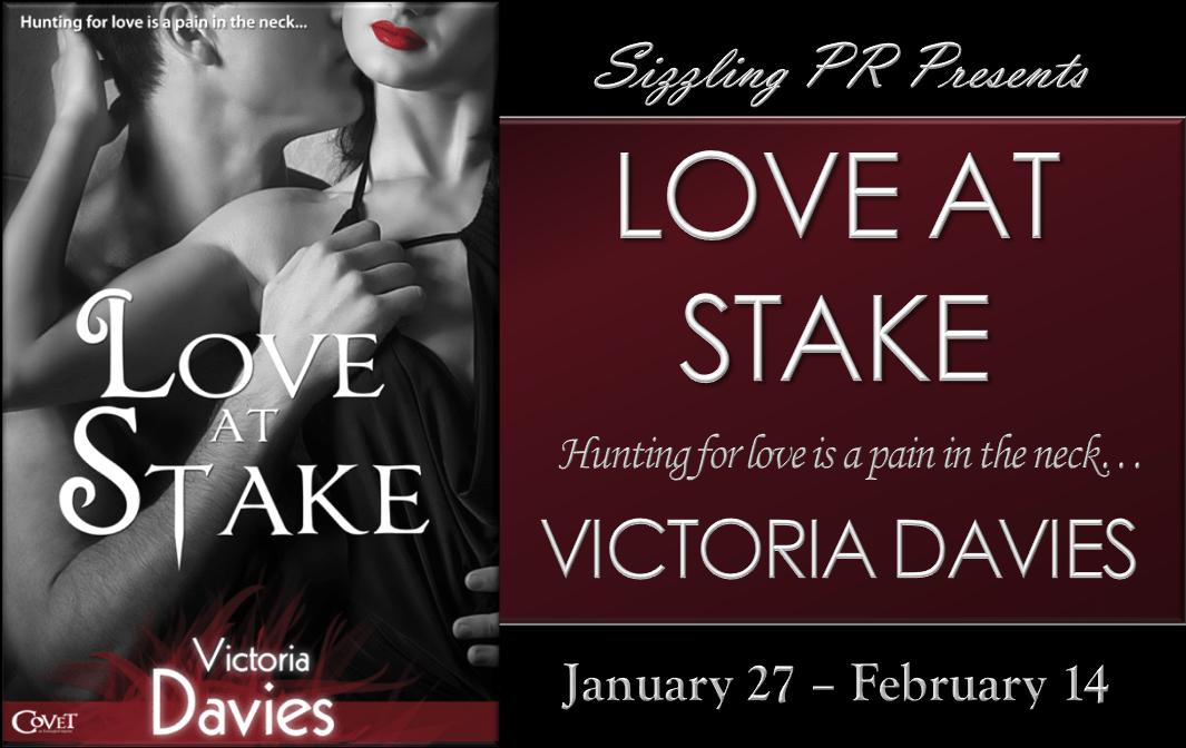 Love at Stake - Victoria Davies - Banner