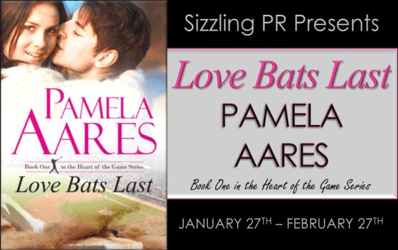Pamela Aares - Love Bats Last Banner