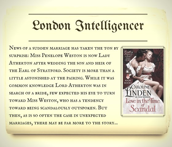 Series Scandal Sheet_London Intelligencer LITTOS