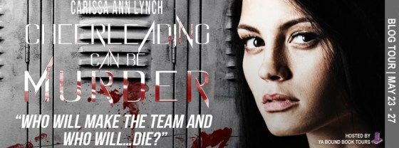 Cheerleading can be Murder tour banner