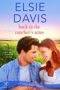Back in the Rancher's Arms by Elsie Davis cover