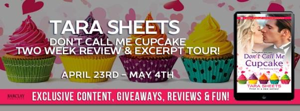 Don't Call Me Cupcake tour banner
