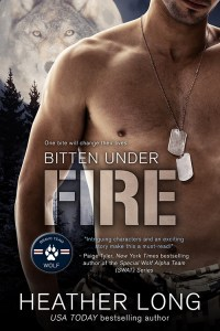 Bitten Under Fire cover