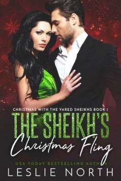 The Sheikh's Christmas Fling cover