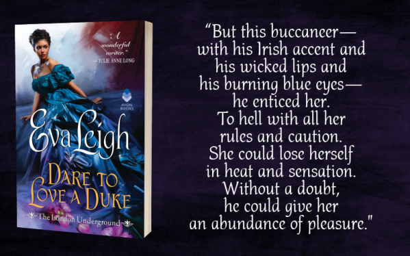 """""""But this buccaneer--with his Irish accent and his wicked lips and his burning blue eyes--he enticed her. To hell with all her rules and caution. She could lose herself in heat and sensation. Without a doubt, he could give her an abundance of pleasure."""""""