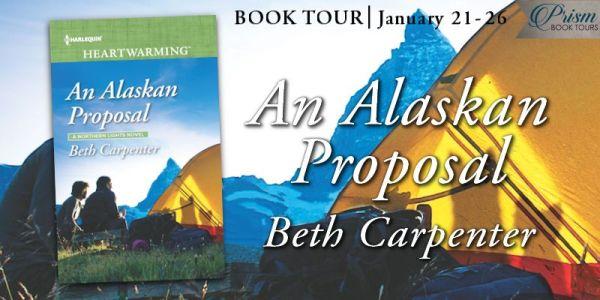 An Alaskan Proposal blog tour banner
