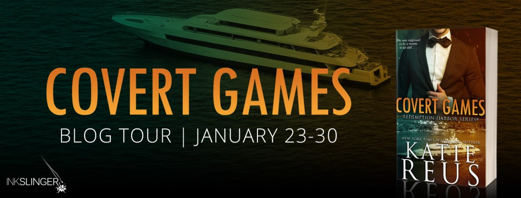 Covert Games blog tour banner