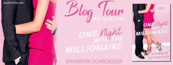 One Night with the Millionaire tour banner