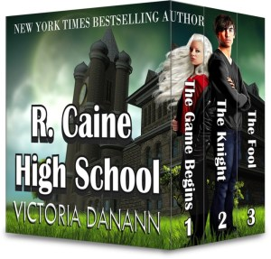 R. Caine High School box set graphic