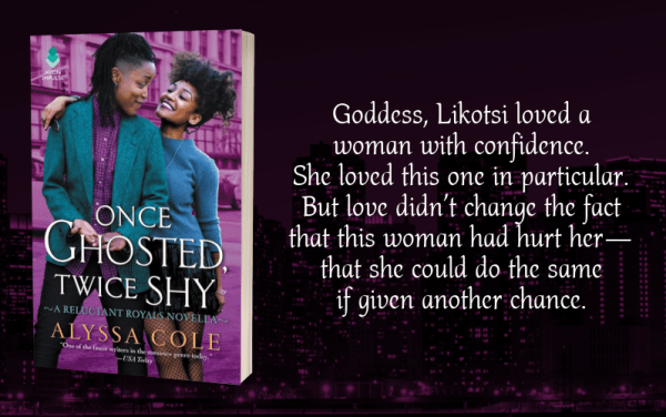 """Goddess, Likotsi loved a woman with confidence. She loved this one in particular. But love didn't change the fact that this woman had hurt her--that she could do the same if given another chance."""