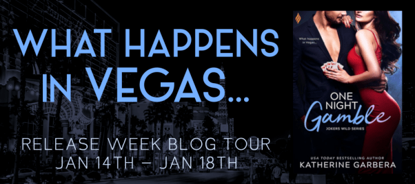 "ONE NIGHT GAMBLE tour banner ""What happens in Vegas..."""