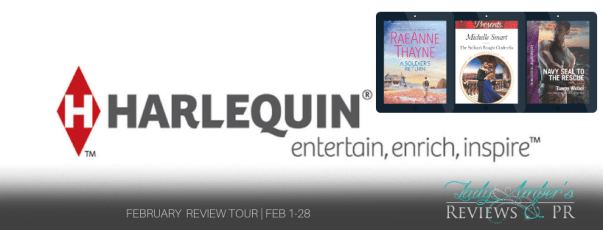 Harlequin February Recommended Reads tour banner