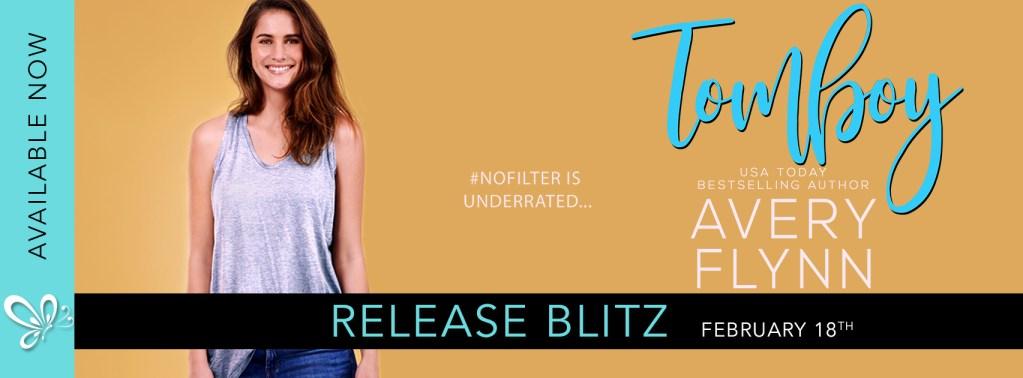 Tomboy release day blitz banner