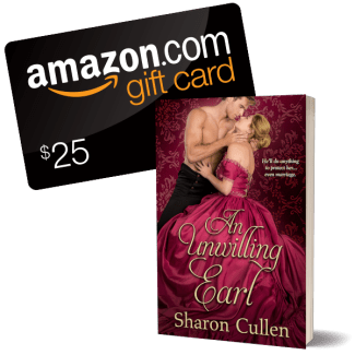 Giveaway! An Unwilling Earl and $25 Amazon gift card