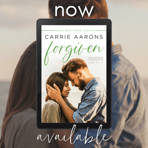 FORGIVEN by Carrie Aarons now available