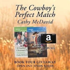 The Cowboy's Perfect Match giveaway graphic