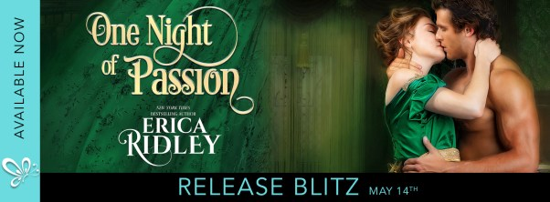 One Night of Passion release blitz banner