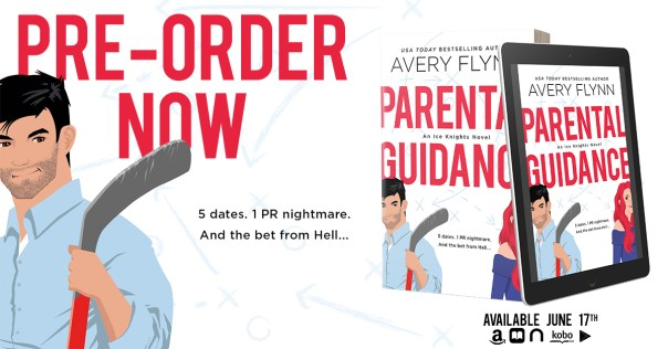 Pre-Order PARENTAL GUIDANCE by Avery Flynn now! banner