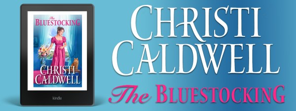Christi Caldwell THE BLUESTOCKING tour banner