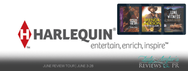 Harlequin June Recommended Reads review tour banner