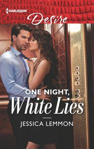 One Night, White Lies by Jessica Lemmon cover