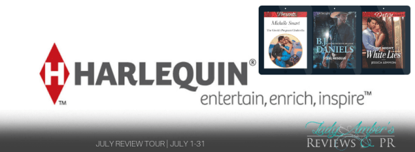 Harlequin Recommended Reads July tour banner
