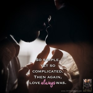 So simple, yet so complicated. Then again, love always wins.