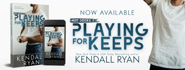 Playing for Keeps release day banner
