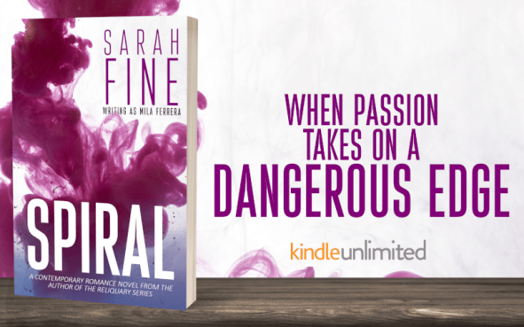 When passion takes on a dangerous edge... SPIRAL by Sarah Fine on KIndle Unlimited