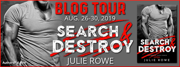 SEARCH & DESTROY blog tour banner