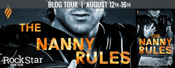 The Nanny Rules blog tour banner