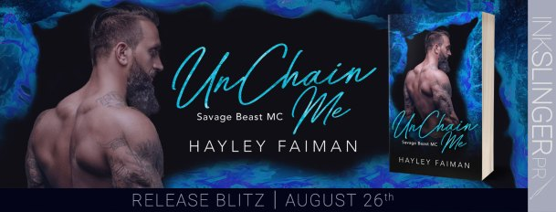 UnChain Me (Savage Beast MC) release day banner