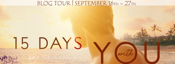 15 Days with You tour banner