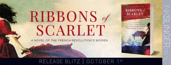 Ribbons of Scarlet release blitz banner