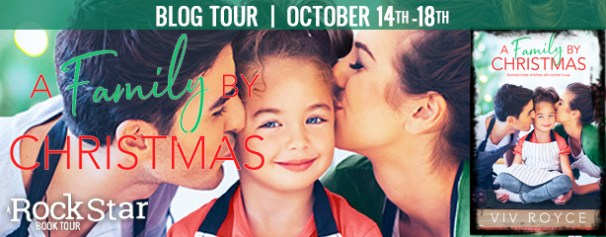 A Family by Christmas blog tour banner