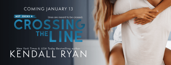 Crossing the Line cover reveal banner