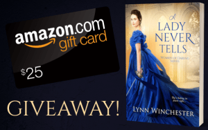 $25 Amazon gift card giveaway graphic