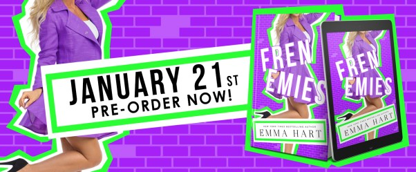 January 21st Pre-order now  Frenemies cover reveal banner