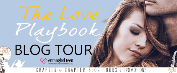 The Love Playbook blog tour banner