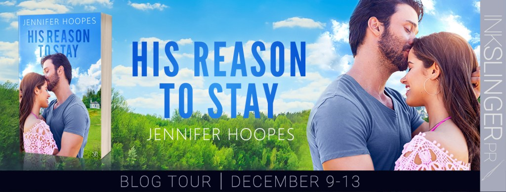 His Reason to Stay blog tour banner