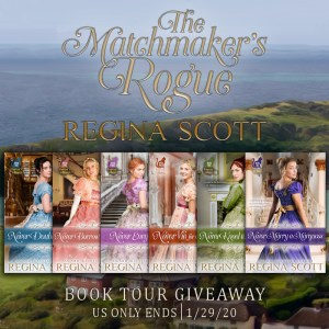 The Matchmaker's Rogue giveaway graphic