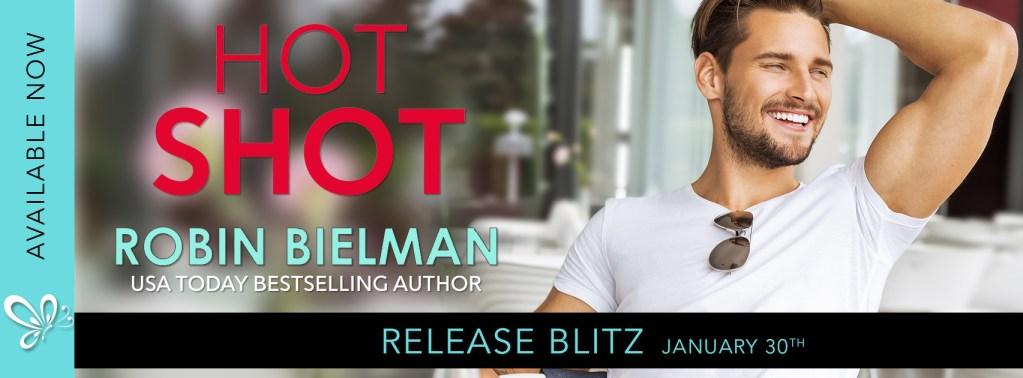 Hotshot by Robin Bielman release blitz banner